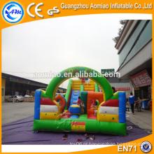 Personalizado bouncer inflável da corrediça para a venda, China combo inflável