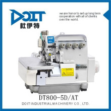 DT800-5D / AT auto pano sucatas absorvendo dispositivo overlock máquina de costura tipo