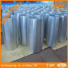 13 3/8 '' * 17 1/2 '' centralizador de alumínio sólido