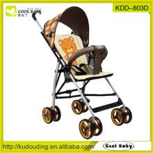 2015 NEW Baby Buggy China fabricante Carrinho de bebê portátil amovível apoio para os braços apoios para os pés ajustável
