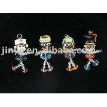 мода кристалл полимерной глины куклы