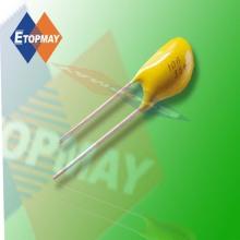 Tipo Radial del condensador de tantalio de Topmay---35V