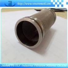 Cylindre de filtre à huile en acier inoxydable