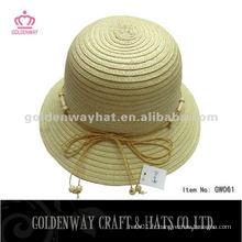 Chapeau de boule de papier à la mode en Corée GW061 chapeaux à dents