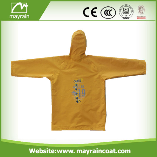 Kid' s Nylon Raincoat