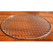 BBQ Net Grill Netting mit Crimpdrahtgeflecht