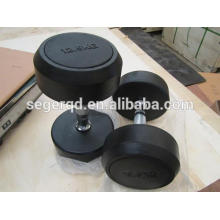 Hot sales cast iron round dumbbell