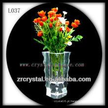Vaso de cristal agradável L037