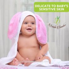 Sevenyo lovely rebbit súper suave y traje para niños y niñas fishion bebé con capucha toalla