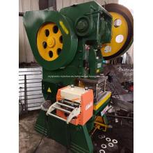 Prensa de potencia de marco en C Máquina de estampado de metal mecánico Máquina de prensa de punzón de abrazadera