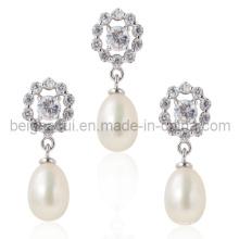 Bijoux en perle de mère, Boucles d'oreille en perle, Pendentifs en perle