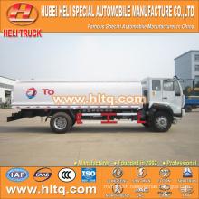 SINOTRUK HOWO 4X2 266HP 13CBM liquid chemical tanker truck hot sale low price
