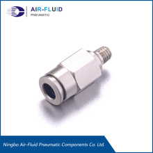 "Pneumatic Metal Fittings 06mm X 1/2"" BSPT"