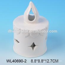 Nuevos quemadores de incienso de cerámica de diseño al por mayor con recorte