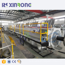 -400mm vertical pe double wall drainage pipe making machine pe pipe production line