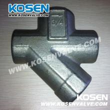 Armadilha a vapor termodinâmica em aço forjado (CS11)
