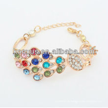 Pulseiras de jóias de moda pulseira de charme pulseira pulseira de liga