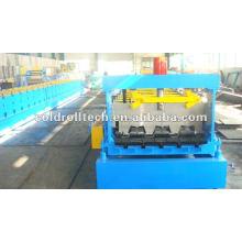 Máquina de prensagem de deck de metal de construção