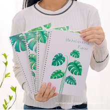 Bulk Paper Cover Custom School Student Spiral Notebook Printing with Logo