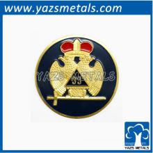insignia modificada para requisitos particulares del albañil, insignia accottish de encargo del rite de la alta calidad
