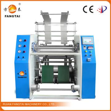 Machine automatique de rebobinage de film extensible de PE de Fts-500 (CE)
