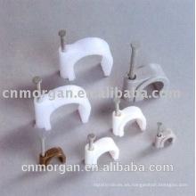 Nuevos clips de cable automotrices adhesivos del círculo del diseño