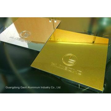 Globond Mirror Finished Aluminium Verbundplatte