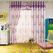 Crianças impresso cortina coelho cortina