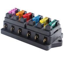 Circuito de fusibles de 6 vías para caja de fusibles automotriz para circuito de vehículos