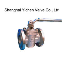 Stainless Steel Flanged End PTFE Lined Sleeve Plug Valve (X43F)