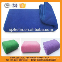 china precio piel cerrada gamuza superficie 250gsm toalla lisa microfibra deporte