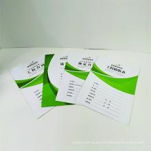 Impresión profesional de folletos de catálogos