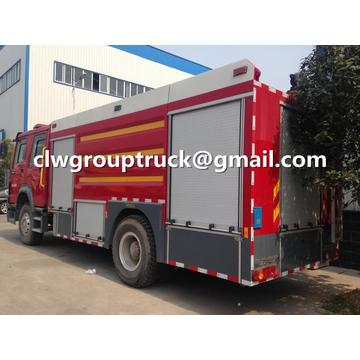 HOWO 4X2 8CBM Fire Fighting Truck