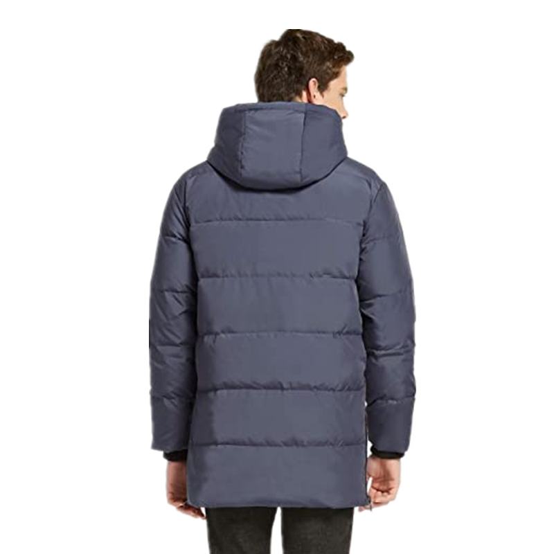 Men S Thickened Down Jacket Classical Winter Hooded Coats With Multiple Pockets