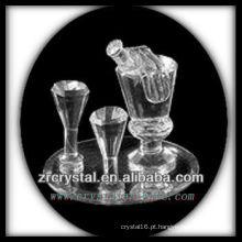 Recipiente de Cristal Maravilhoso P004