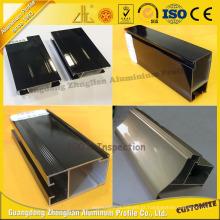Perfil de extrusão de alumínio para revestimento de eletroforese