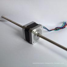 Nema 17 non-captive linear guide rail stepper motor
