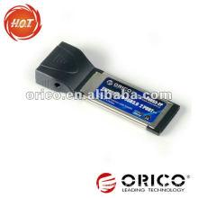2 port USB 3.0 Laptop PCI Express Card 34mm/54mm