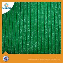 Rollo y PCS que embalan la red colorida de la cortina del agro para el invernadero