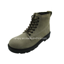 Plein daim supérieure mi-coupe Safety Shoes (HQ06009)