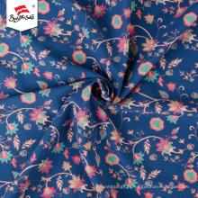 Tissu imprimé allemand personnalisé en polyester à motif de fleurs