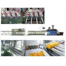 ПВХ четыре трубы проводника производства и Экструзионные линии машины