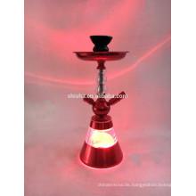 Fabrik Verkauf Chicha Shisha mit Led-Licht