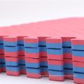 1mX1mX3.0cm BluePink EVA Taekwondo Mat