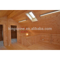 casa de madeira bangalô Log Cabin Casa de madeira