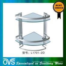 estante de cristal del cuarto de baño del cuarto de baño China fabricación: L1701-2D