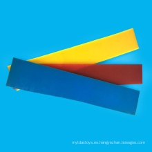 Rollo de la PU del grueso del color de la naturaleza 1m m para el deslizador
