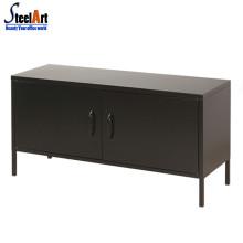 Novo design canto armário de aço mesa de tv