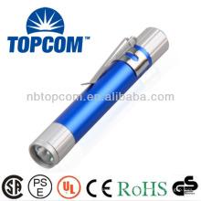 Pluma ligera llevada mini multicolor del aluminio con el clip TP-P721A