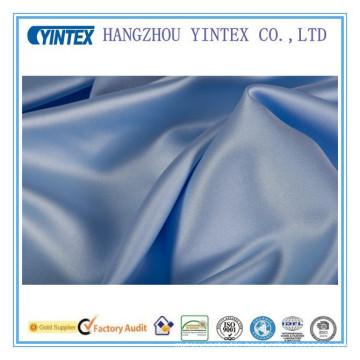 100% Cotton Satin Cotton Fabric Dyed Twill
